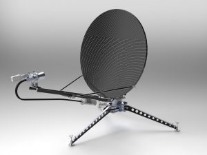 PICO120 auto pointing antenna